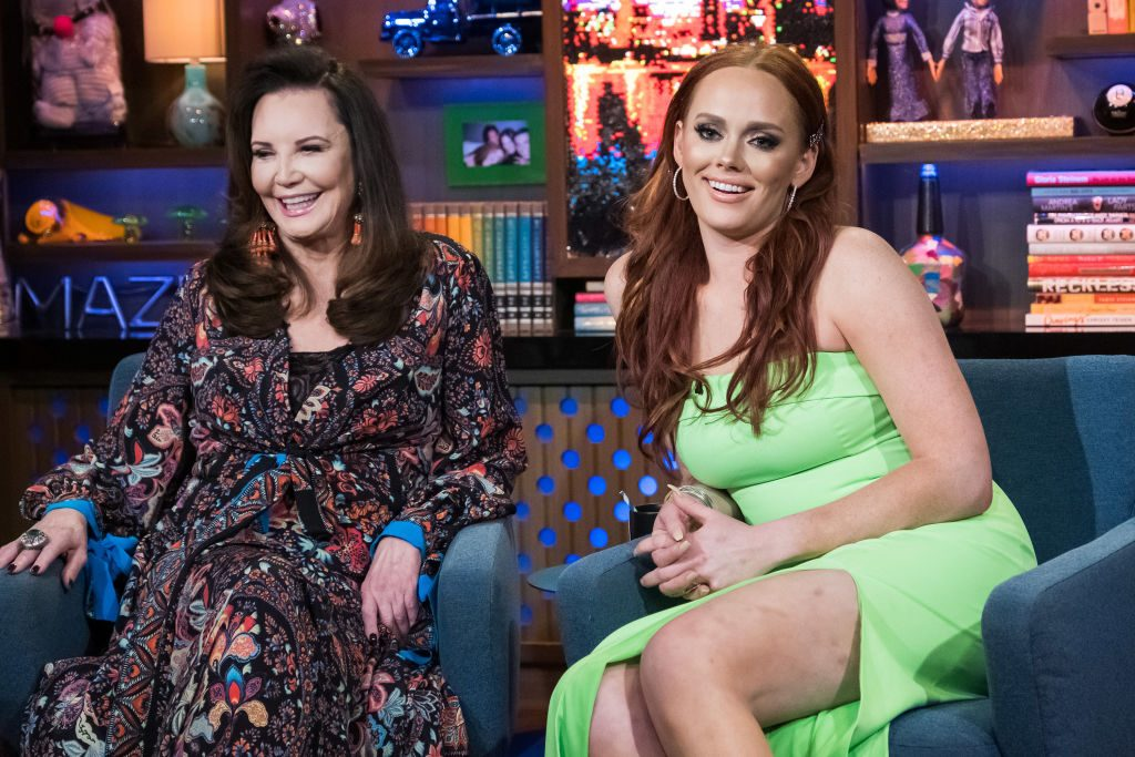 Patricia Altschul and Kathryn Dennis