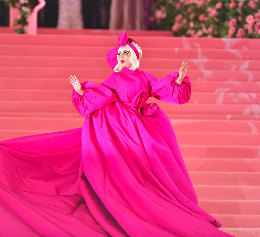 Lady Gaga arrives to The 2019 Met Gala Celebrating Camp: Notes on Fashion at Metropolitan Museum of Art on May 6, 2019 in New York City.