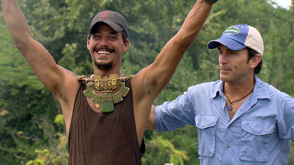 Rob Mariano and Jeff Probst