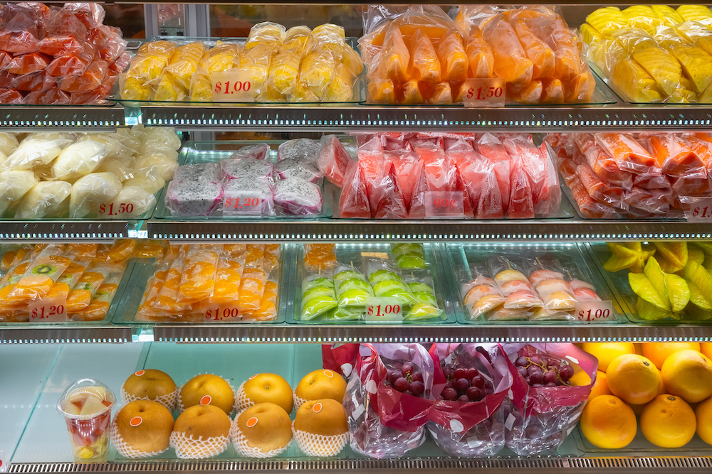 Fruit in a store