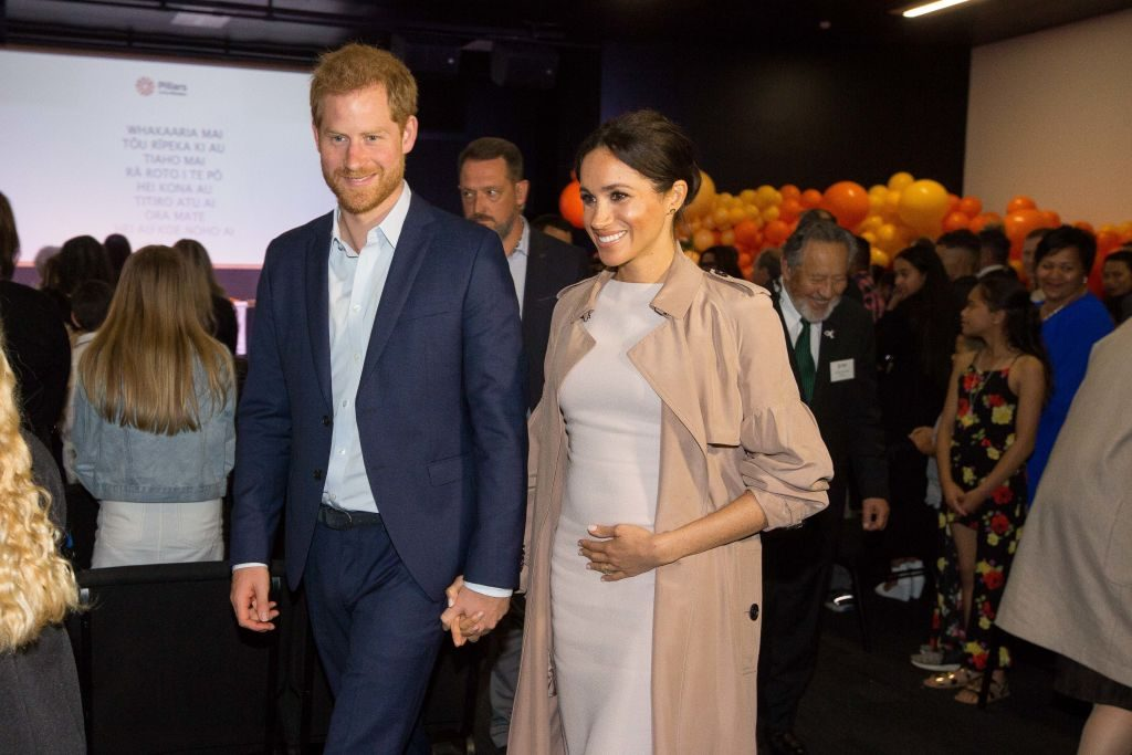Prince Harry and Meghan Markle The Duke And Duchess Of Sussex Visit New Zealand - Day 3