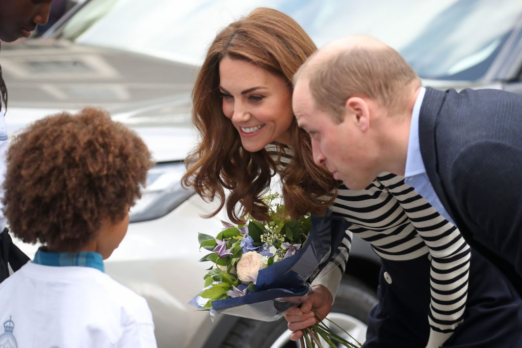 Prince William and Kate Middleton The Duke And Duchess Of Cambridge Launch King's Cup Regatta