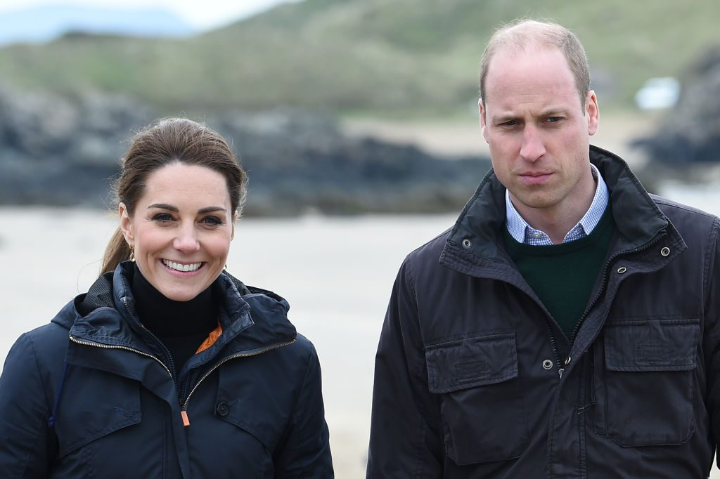 Prince William and Kate Middleton The Duke And Duchess Of Cambridge Visit North Wales
