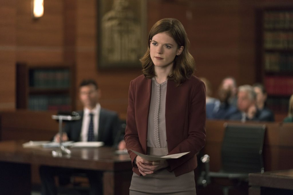 Rose Leslie in The Good Fight