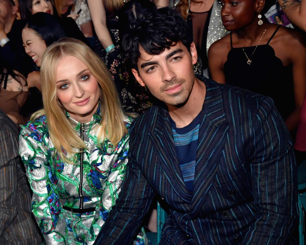 Sophie Turner and Joe Jonas attend the 2019 Billboard Music Awards at MGM Grand Garden Arena on May 1, 2019 in Las Vegas, Nevada.