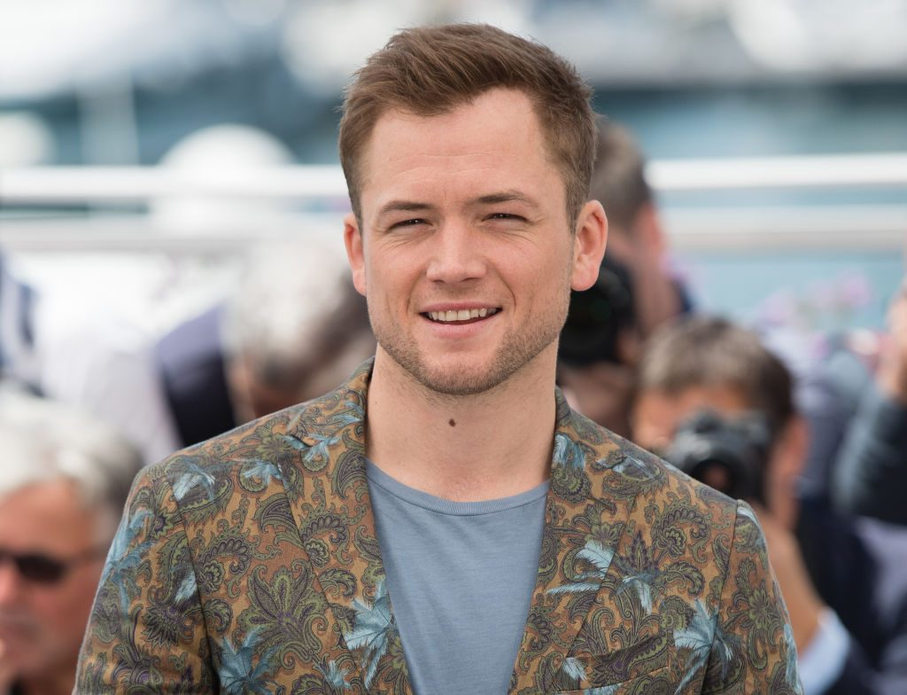 Taron Egerton attends the photocall for Rocketman during the 72nd annual Cannes Film Festival on May 16, 2019, in Cannes, France.
