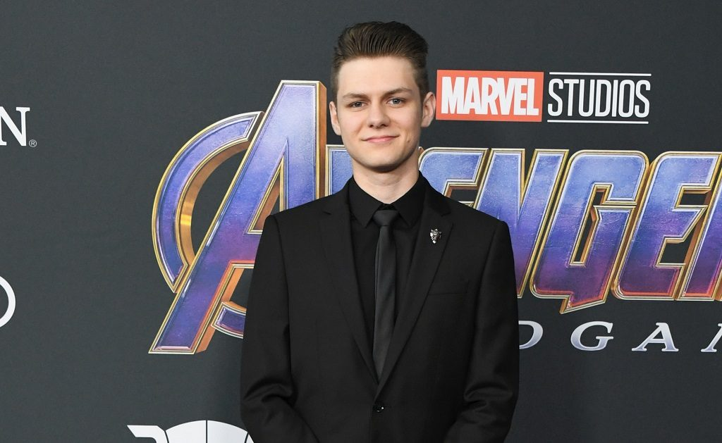 Ty Simpkins attends the World Premiere Of Walt Disney Studios Motion Pictures Avengers: Endgame at Los Angeles Convention Center on April 22, 2019.