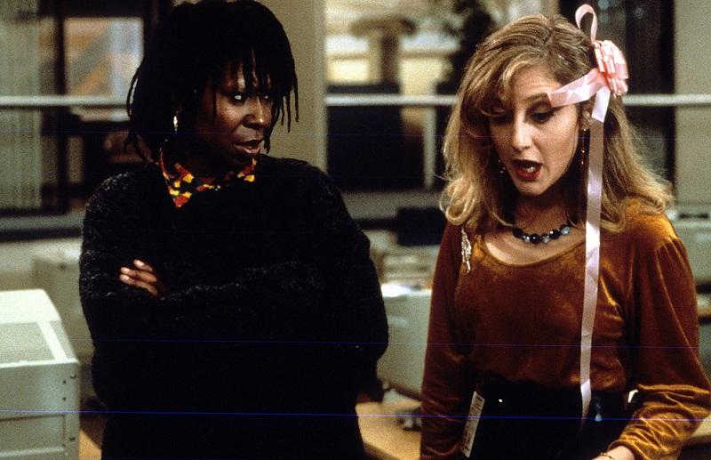 Whoopi and Carol Kane in 1986 film Jumpin' Jack Flash
