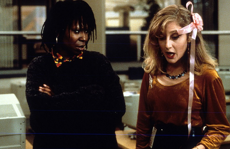 Whoopi and Carol Kane in 1986 film Jumpin' Jack Flash