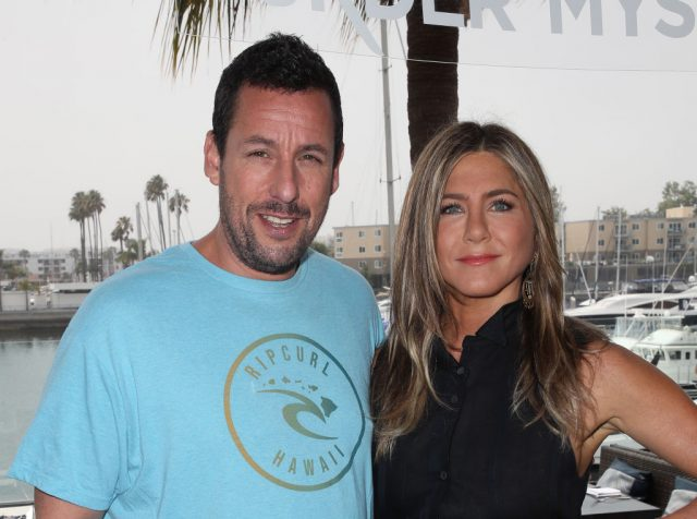 Adam Sandler Revealed 'The Only Awkward Part' of Kissing Jennifer Aniston in 'Murder Mystery'