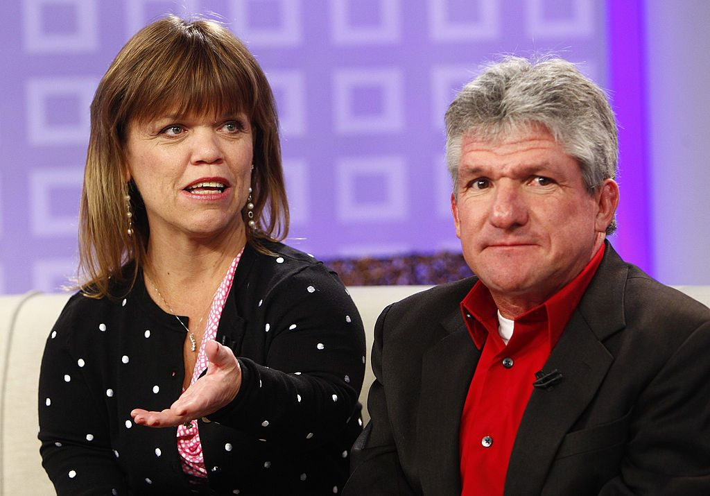 "Amy Roloff and Matt Roloff appear on NBC News' ""Today"" show"