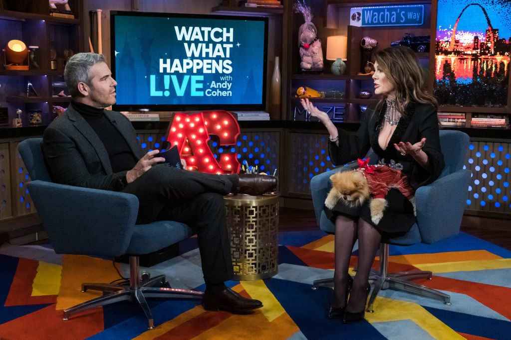 Andy Cohen and Lisa Vanderpump