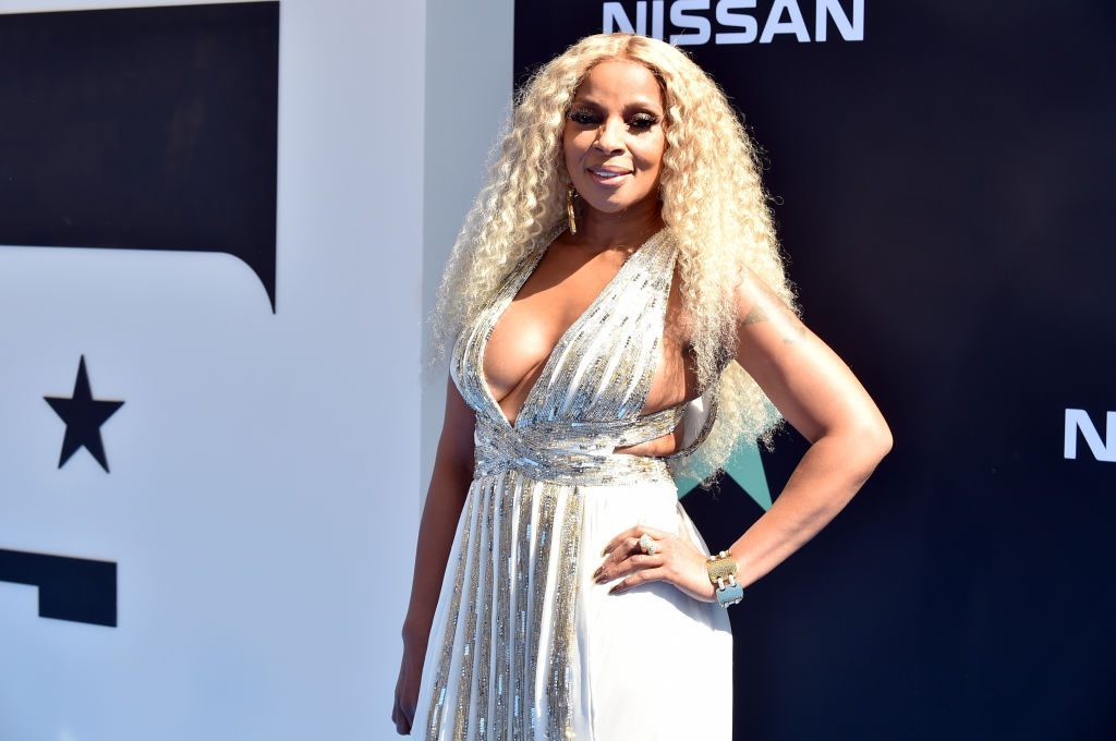 Mary J. Blige attends the 2019 BET Awards on June 23, 2019, in Los Angeles, California.
