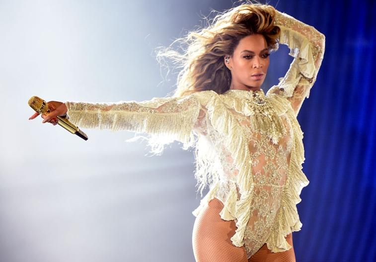 Photo of Beyonce.