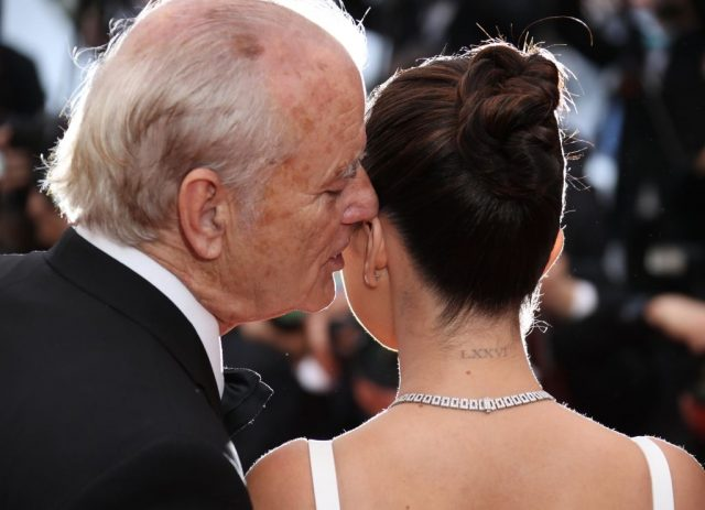 Bill Murray and Selena Gomez at Cannes.