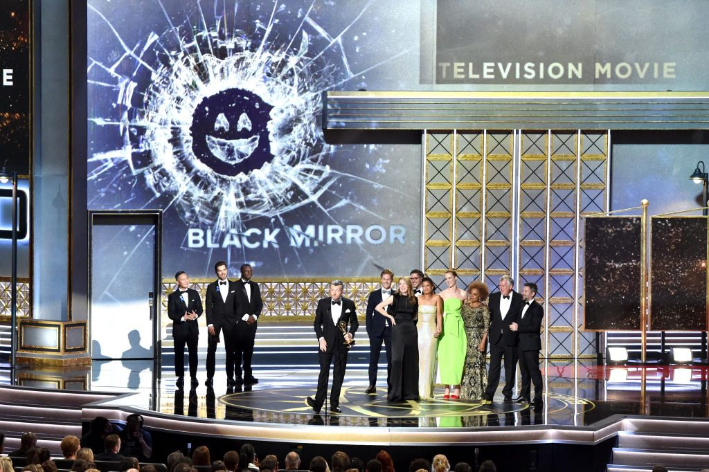 Cast and crew of Black Mirror |  Lester Cohen/WireImage