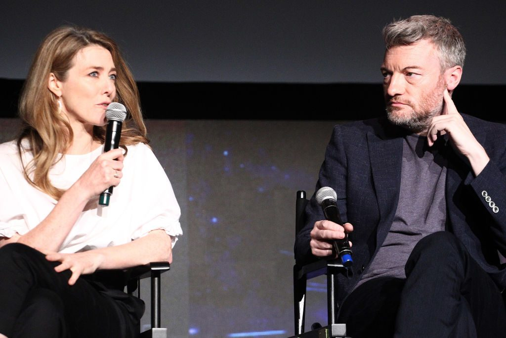 """Annabel Jones and Charlie Brooker attend the FYSEE Event for Netflix's """"Black Mirror"""" at Netflix FYSEE At Raleigh Studios 