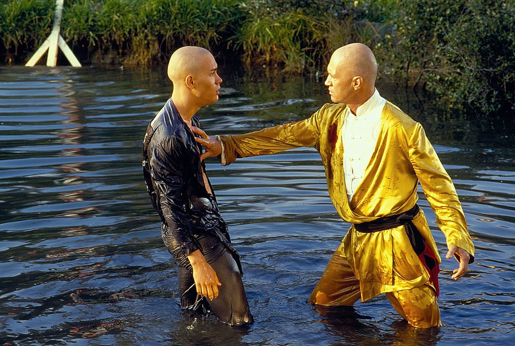 Carradine And Lee In Kung Fu: The Movie