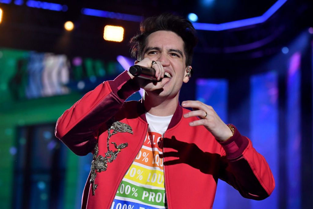 Brendon Urie performs onstage at 2019 iHeartRadio
