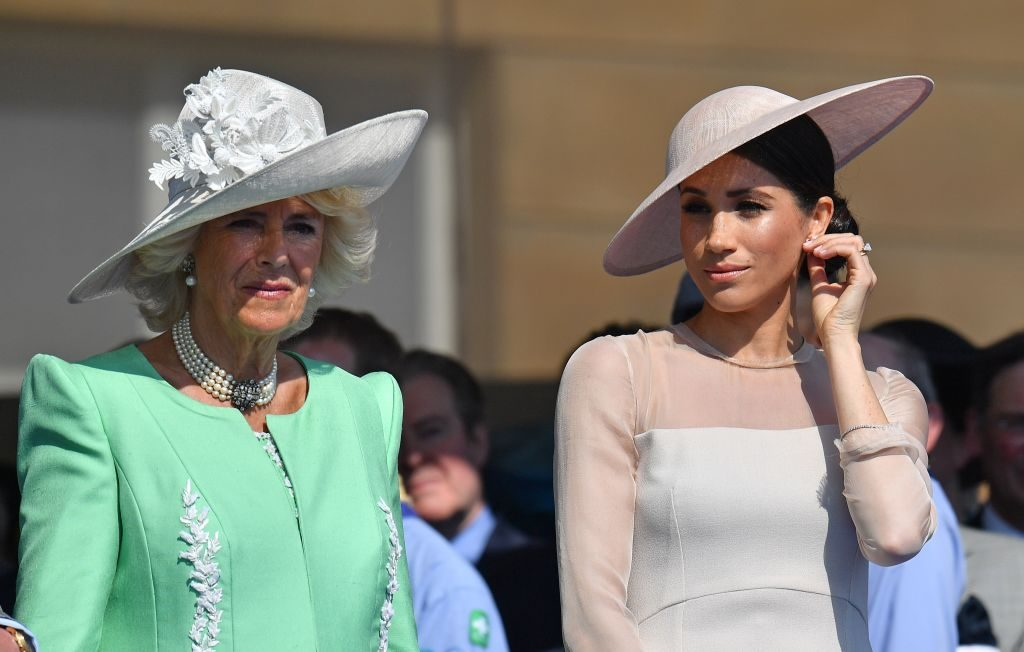 Camilla Parker Bowles and Meghan Markle