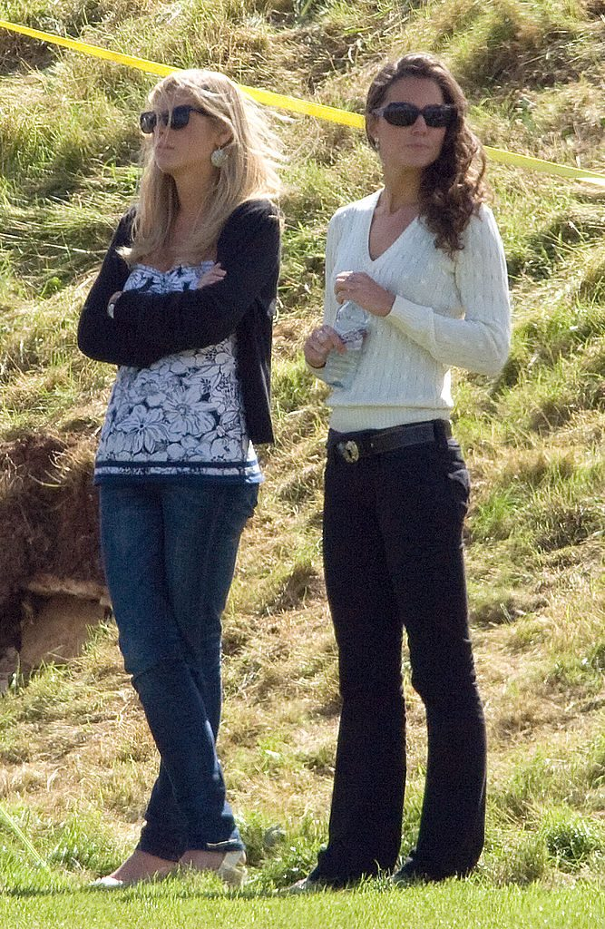 Chelsy Davy and Kate Middleton