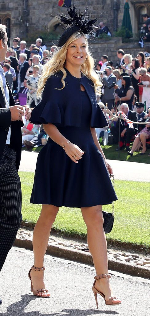 Chelsy Davy at Prince Harry and Meghan Markle's royal wedding