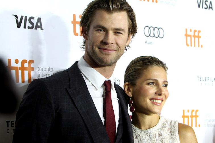 Chris Hemsworth and wife Elsa Pataky