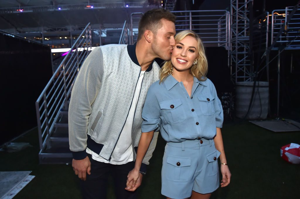 Colton Underwood and Cassie Randolph | Jeff Kravitz/FilmMagic for iHeartMedia