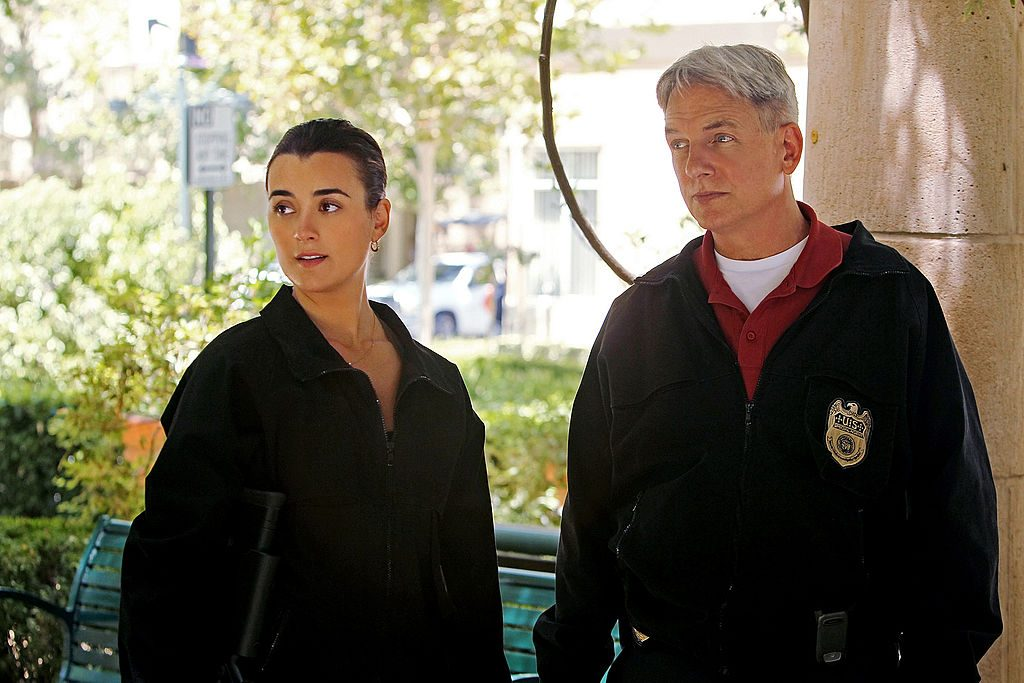 Cote de Pablo and Mark Harmon |  Monty Brinton/CBS via Getty Images