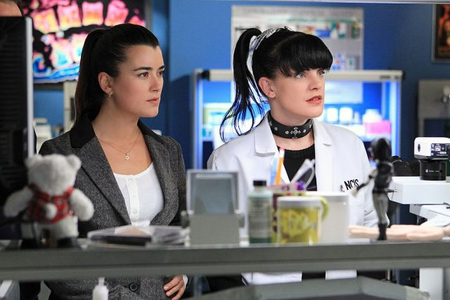 Cote de Pablo and Pauley Perrette