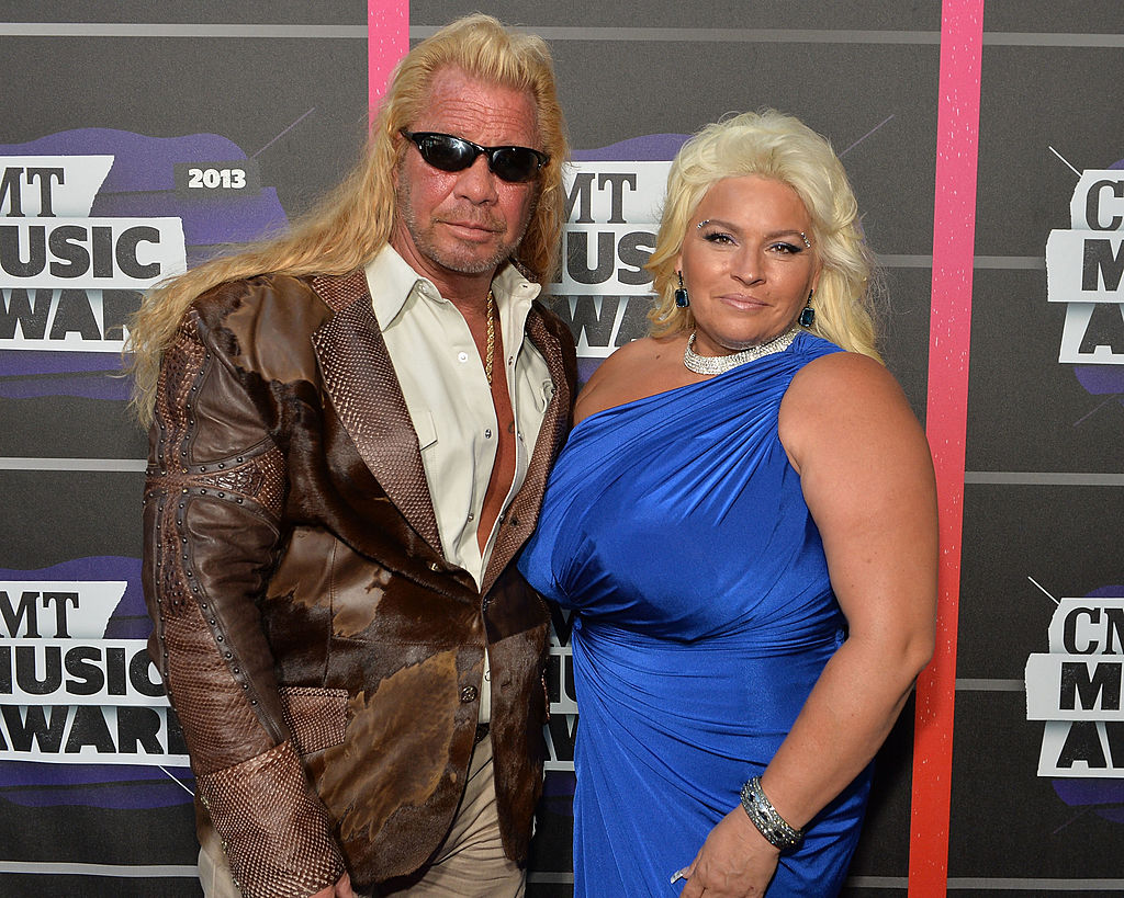 dog the bounty hunter and his wife