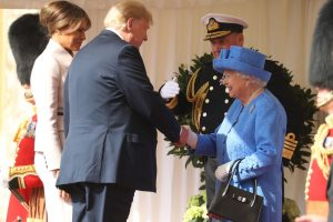 Why Didn't Donald And Melania Trump Bow Or Curtsy When They Met Queen Elizabeth?