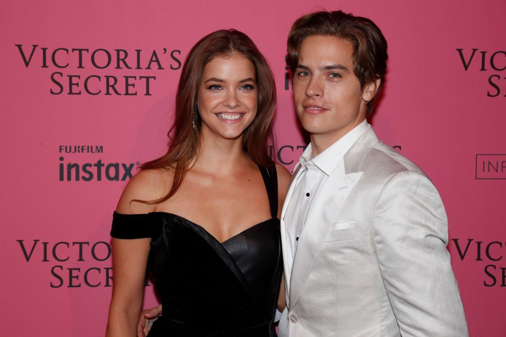 2018 Victoria's Secret Fashion Show - Barbara Palvin and Dylan Sprouse