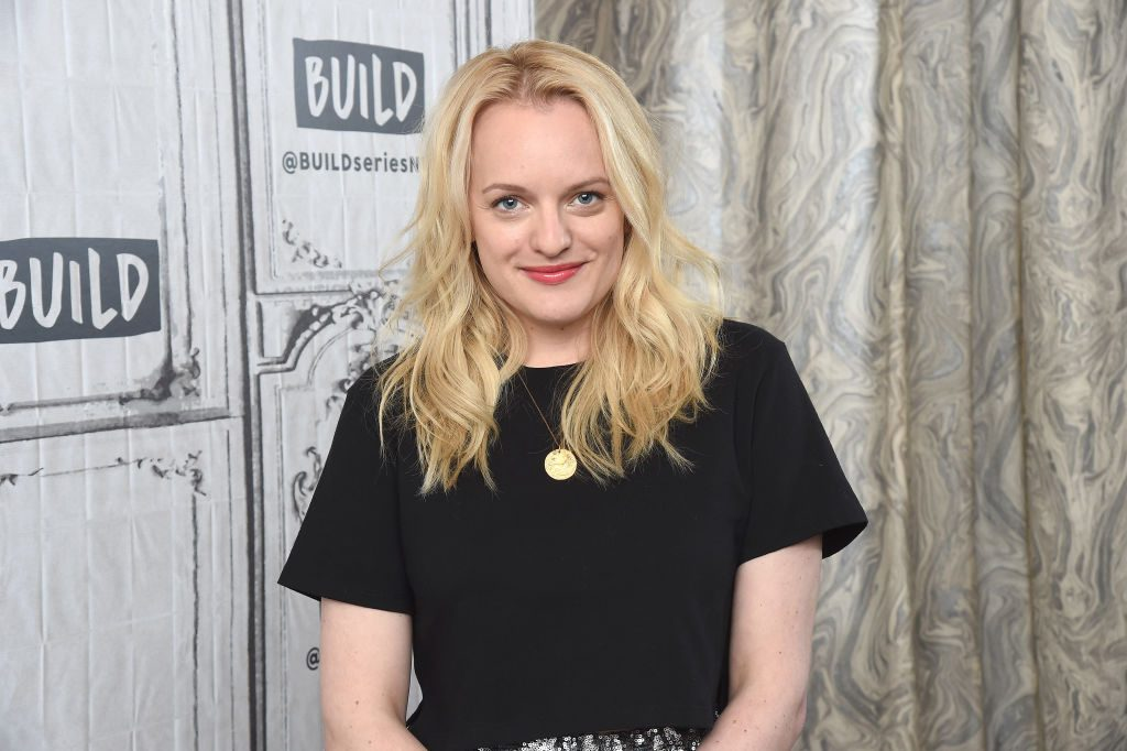 Elisabeth Moss | by Gary Gershoff/Getty Images