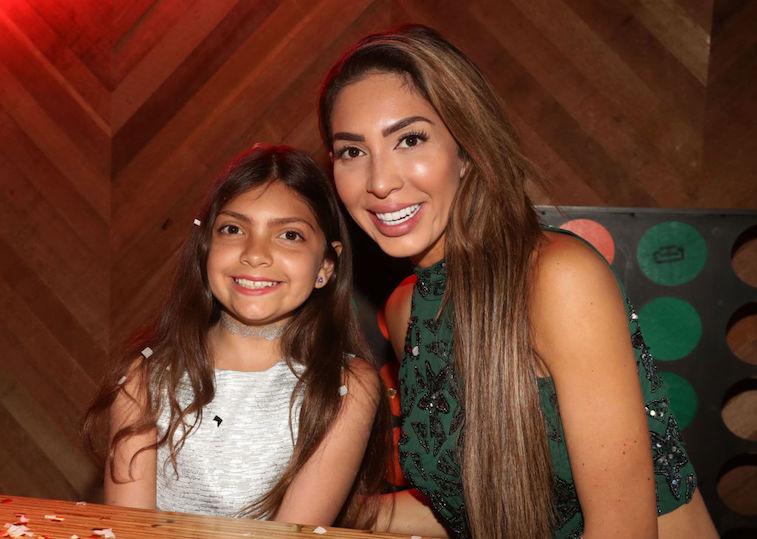 Farrah Abraham and daughter, Sophia