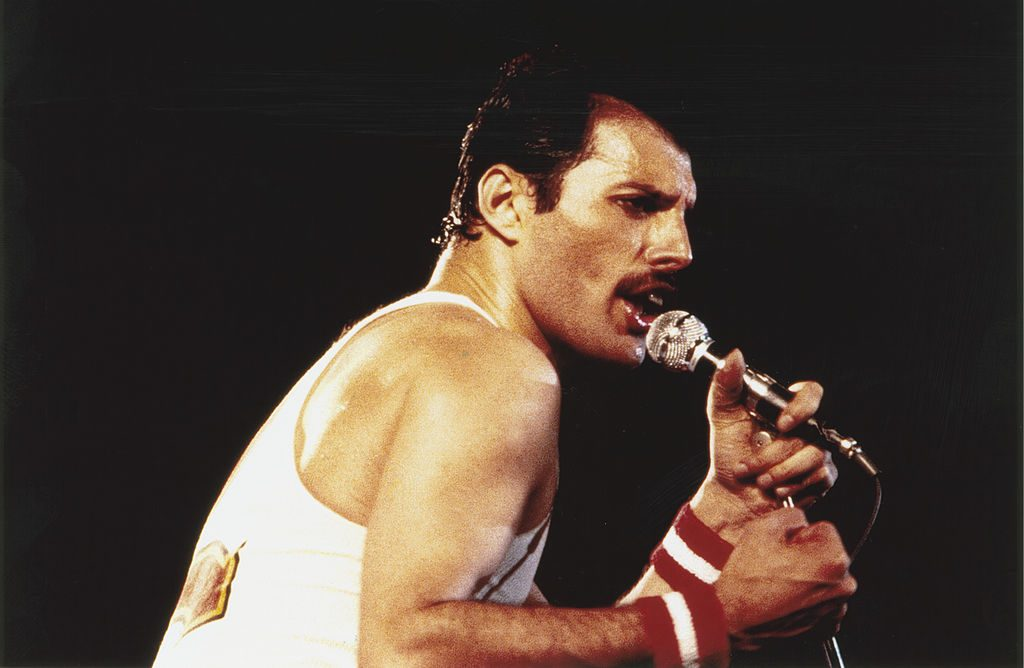 Freddie Mercury returns in release of stripped-back version of 'Time'