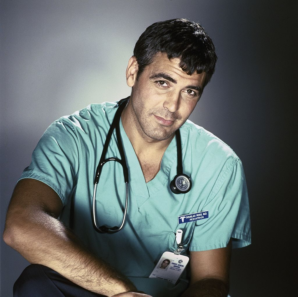 George Clooney as Dr. Doug Ross | Jeff Katz/NBCU Photo Bank