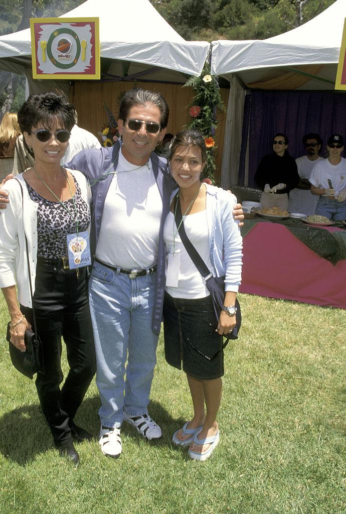 Robert Kardashian and Kourtney Kardashian