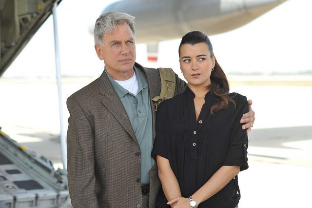 'NCIS' stars Mark Harmon and Cote de Pablo
