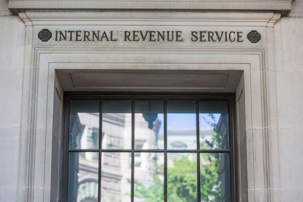 The IRS building in Washington, DC.