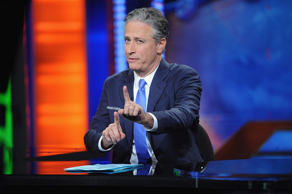 Jon Stewart former host of 'The Daily Show'