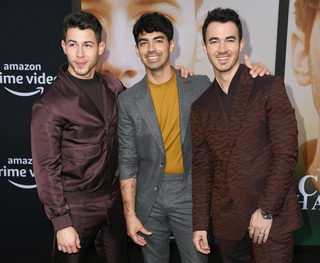"Jonas Brothers Premiere Of Amazon Prime Video's ""Chasing Happiness"""