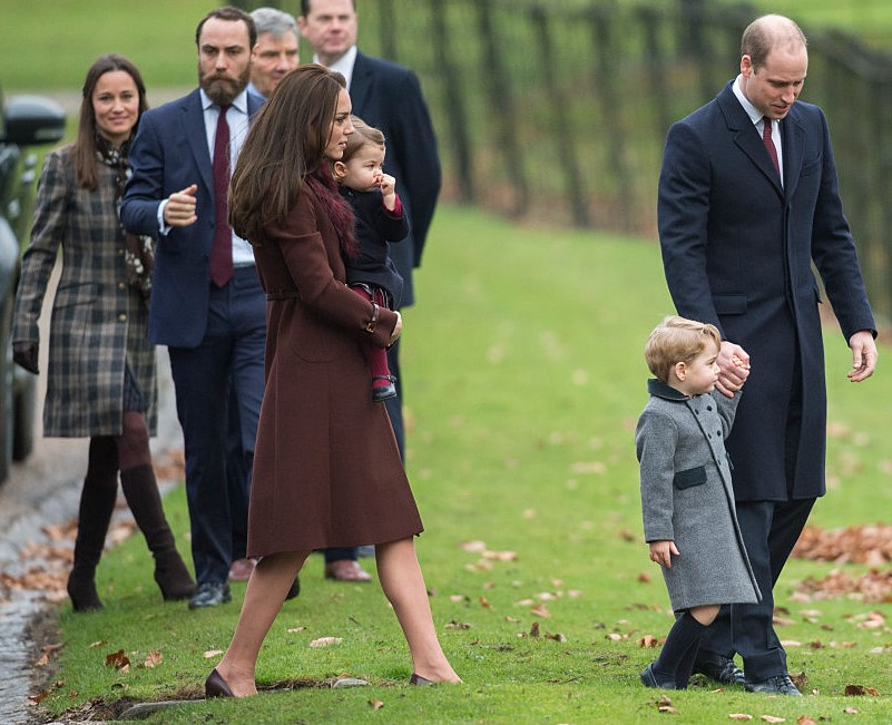 Kate Middleton, Prince William, and the Middleton family