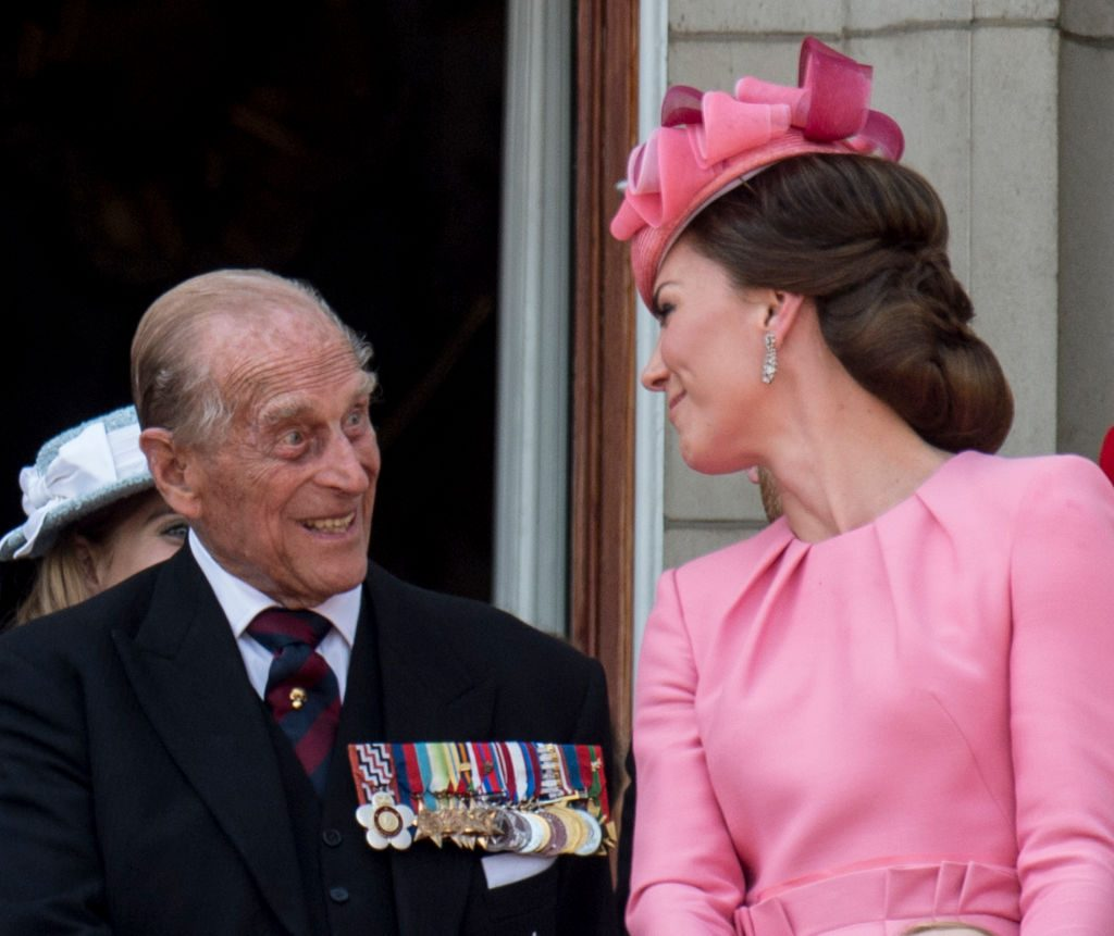 Kate Middleton and Prince Philip