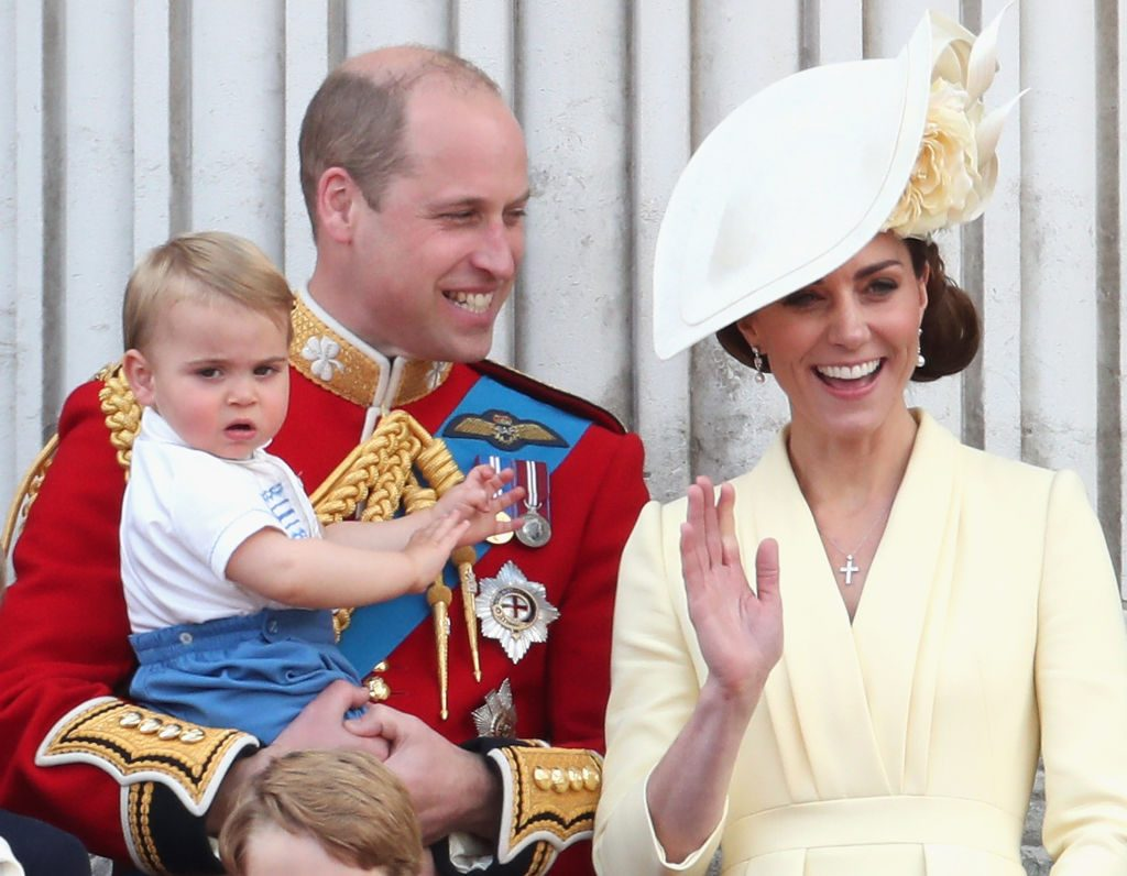 Prince William and Kate Middleton Trooping The Colour 2019