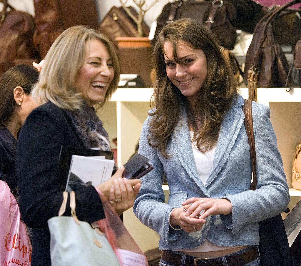 Kate and Carole Middleton