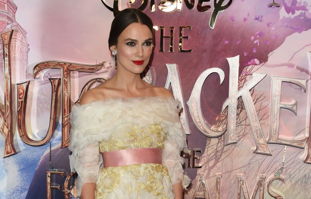 Keira Knightley attends the European Premiere of Disney's The Nutcracker And The Four Realms   David M. Benett/Dave Benett/WireImage