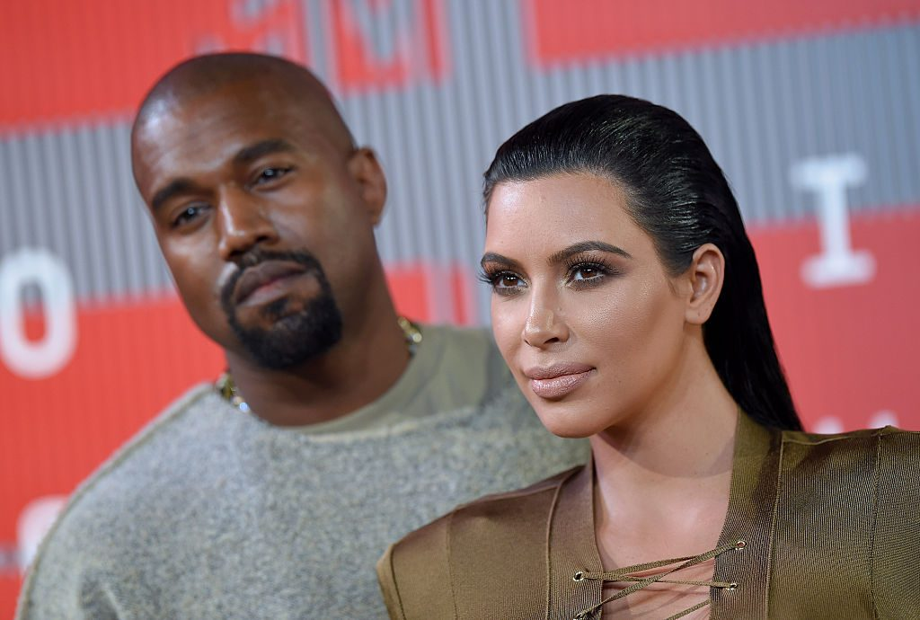 Kanye West and Kim Kardashian | Axelle/Bauer-Griffin/FilmMagic