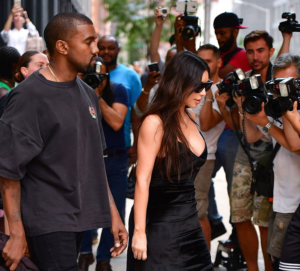 Kim Kardashian and Kanye West | James Devaney/GC Images