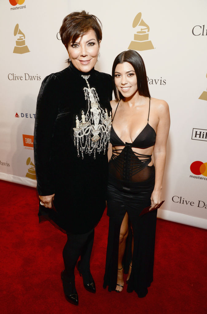 Kourtney Kardashian Kris Jenner